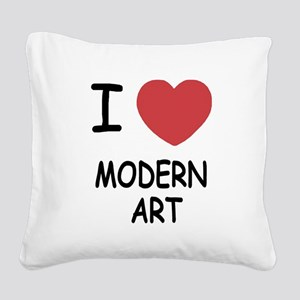 MODERN_ART Square Canvas Pillow
