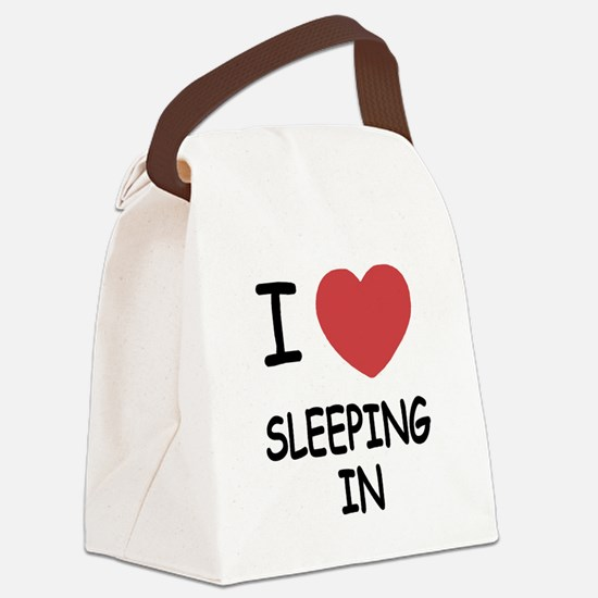 SLEEPING_IN.png Canvas Lunch Bag