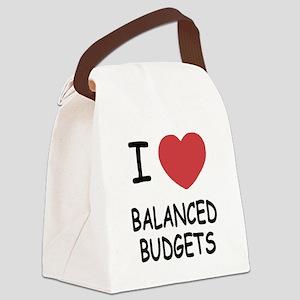 BALANCED_BUDGETS Canvas Lunch Bag
