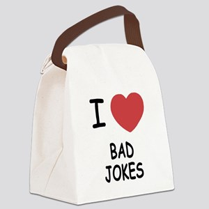 BAD_JOKES Canvas Lunch Bag