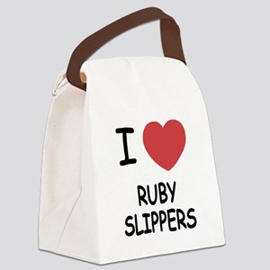 RUBY_SLIPPERS Canvas Lunch Bag
