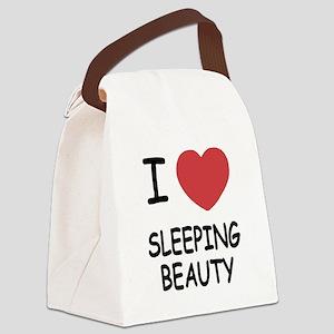 SLEEPING_BEAUTY Canvas Lunch Bag
