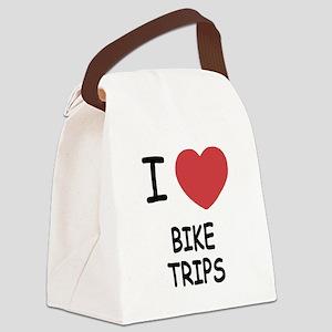 BIKE_TRIPS Canvas Lunch Bag