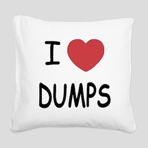 DUMPS Square Canvas Pillow