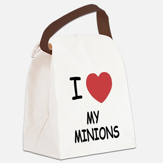 MY_MINIONS.png Canvas Lunch Bag