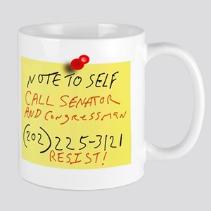 Note To Self Call Mugs