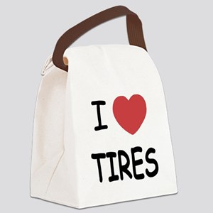 TIRES Canvas Lunch Bag