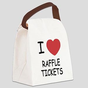 RAFFLE_TICKETS Canvas Lunch Bag