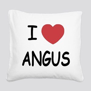 ANGUS Square Canvas Pillow