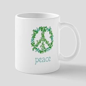 Snowflake Simple Peace Mug