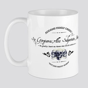 Addams Family Creed Mug