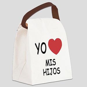 MIS_HIJOS Canvas Lunch Bag