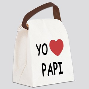 PAPI Canvas Lunch Bag