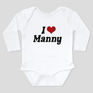 I Love Manny Body Suit