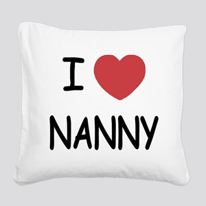 NANNY Square Canvas Pillow