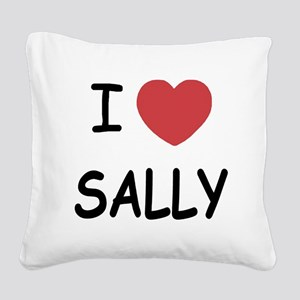 SALLY Square Canvas Pillow
