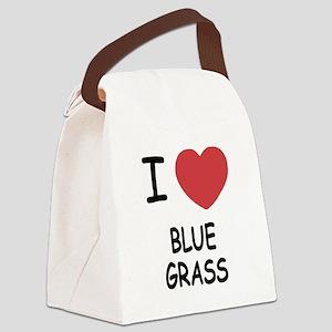BLUEGRASS222 Canvas Lunch Bag