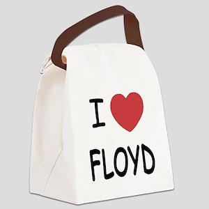 I heart Floyd Canvas Lunch Bag