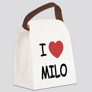 milo Canvas Lunch Bag