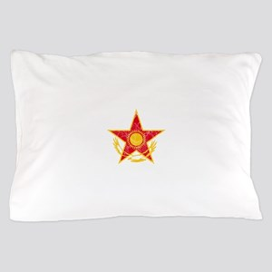 Kazakhstan Roundel Pillow Case