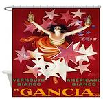 Vintage Cappiello Vermouth Shower Curtain