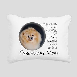 Pom Mom Rectangular Canvas Pillow