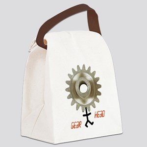 gearhead01 Canvas Lunch Bag
