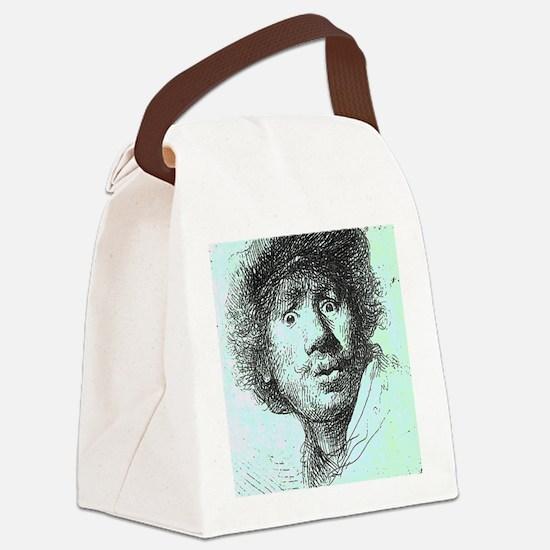 zrembrandt01.png Canvas Lunch Bag