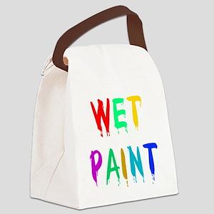 zwetpaint01 Canvas Lunch Bag
