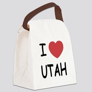 UTAH Canvas Lunch Bag