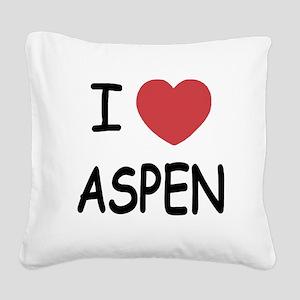ASPEN Square Canvas Pillow