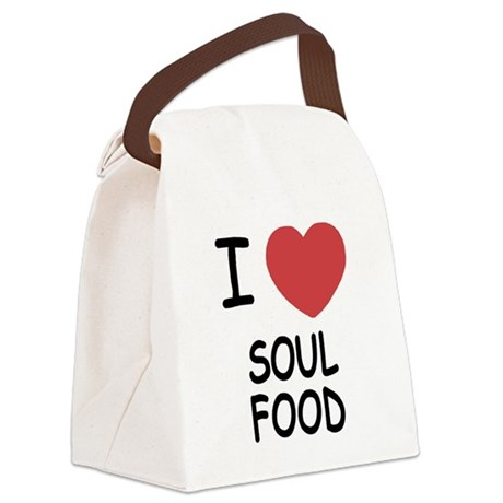 SOUL_FOOD.png Canvas Lunch Bag