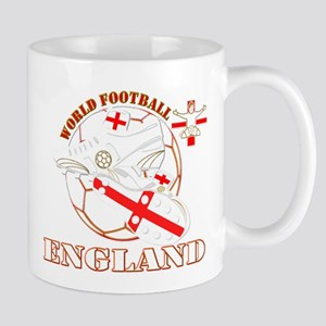 World Football England Design Mug