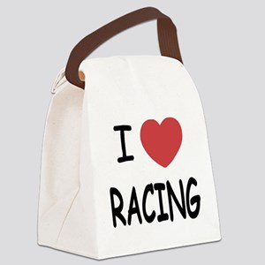 I_loveRACING01 Canvas Lunch Bag