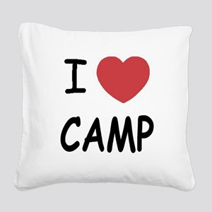 CAMP01 Square Canvas Pillow
