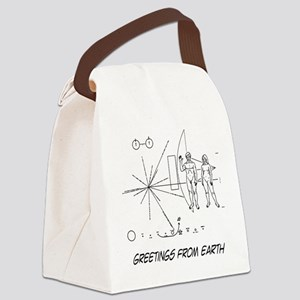 earthgreeting01 Canvas Lunch Bag