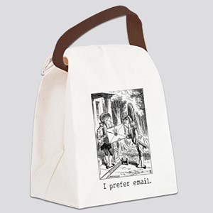 zemail01 Canvas Lunch Bag