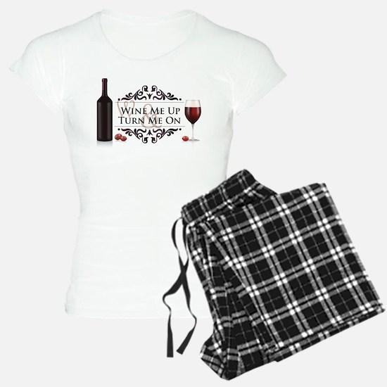Wine Me Up Pajamas