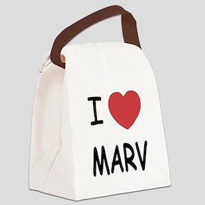 I heart MARV Canvas Lunch Bag