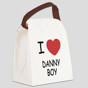 I heart DANNY BOY Canvas Lunch Bag