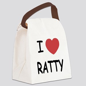 I heart RATTY Canvas Lunch Bag
