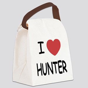 I heart HUNTER Canvas Lunch Bag
