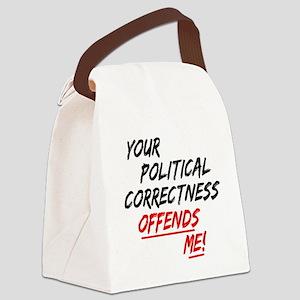 politicalcorrectness01 Canvas Lunch Bag