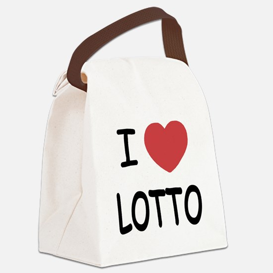 LOTTO.png Canvas Lunch Bag