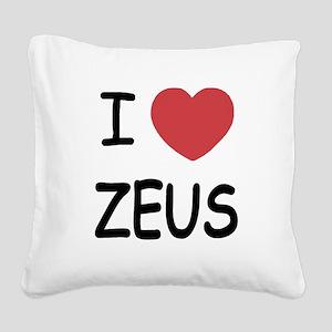 ZEUS Square Canvas Pillow