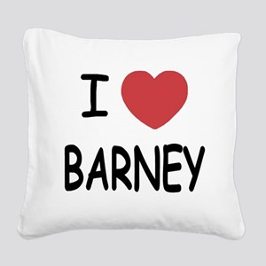 BARNEY01 Square Canvas Pillow