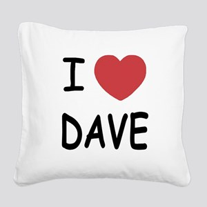 DAVE01 Square Canvas Pillow