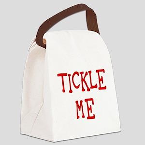 tickleme Canvas Lunch Bag