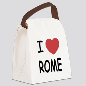 ROME Canvas Lunch Bag