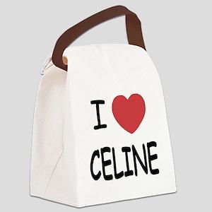 CELINE Canvas Lunch Bag
